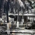 Hotel Las Hamacas comedor y terrazas .