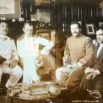 Reunion de politicos durante La Revolucion Mexicana 16 de Agosto de 1913
